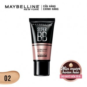 Kem nền BB Super Cover #02 Maybelline G2749800