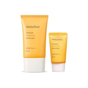 Chống nắng Triple Care Innisfree mẫu mới