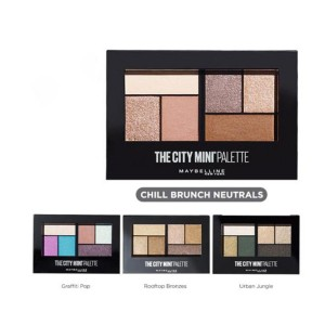 Bảng Phấn Mắt Maybelline Chill Brunch NeutralsThe City Mini Palette