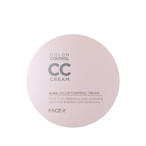 Phấn nước Aura CC Color Control Cream The Face Shop