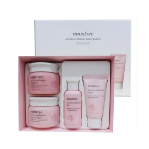 Set Dưỡng Innisfree Jeju Cherry Blossom Cream Duo Set - Travel Exclusive