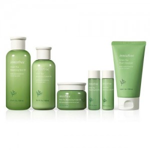 Set Dưỡng Innisfree Green Tea Balancing Skin Care Trio EX