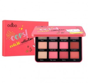 Phấn mắt Odbo 12 ô Oops Cutest Collection OD212 màu 03