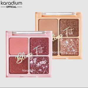 Phấn Mắt Karadium 4 ô Bling Fit Bijou Box Shadow