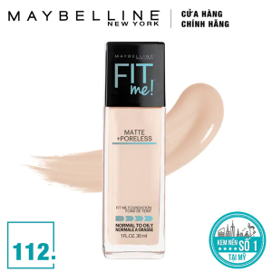 Kem nền Fit Me 112 Maybelline