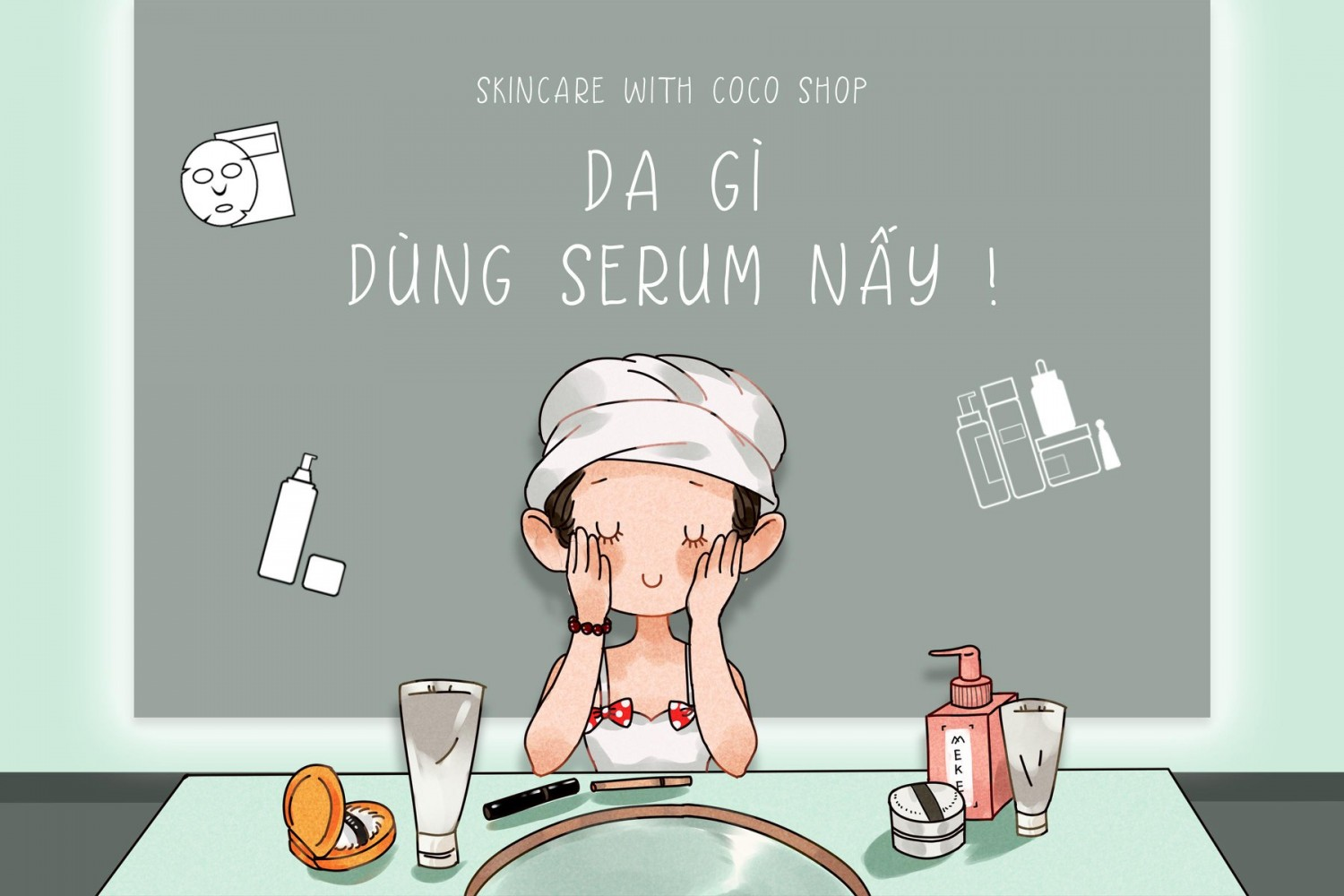 Góc skincare with Coco Shop