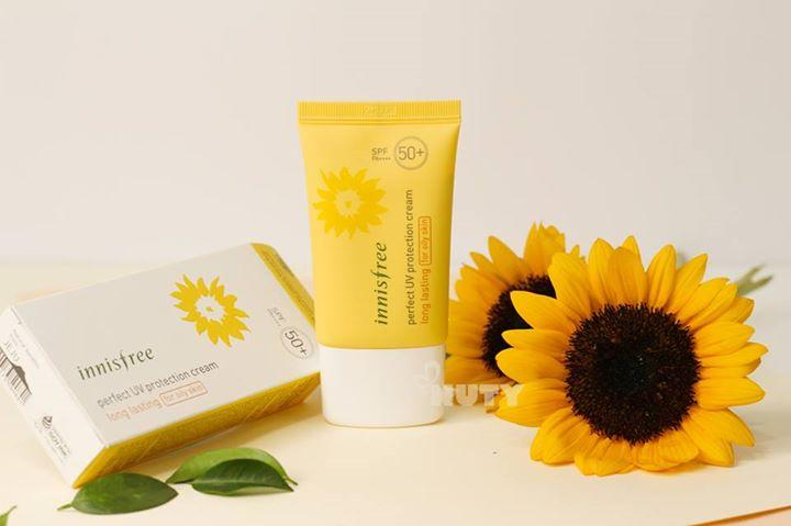 Review kem chong nang innisfree perfect uv protection cream