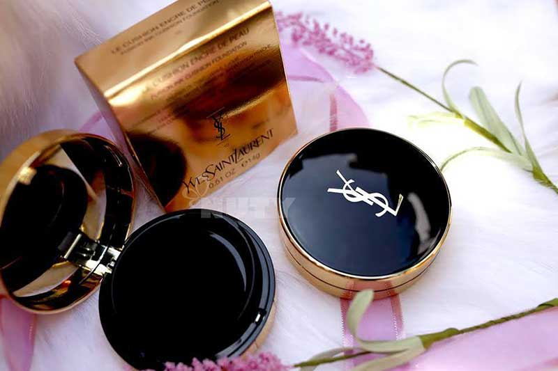 review phân nước – cushion Encre De Peau Fushion Ink Foundation