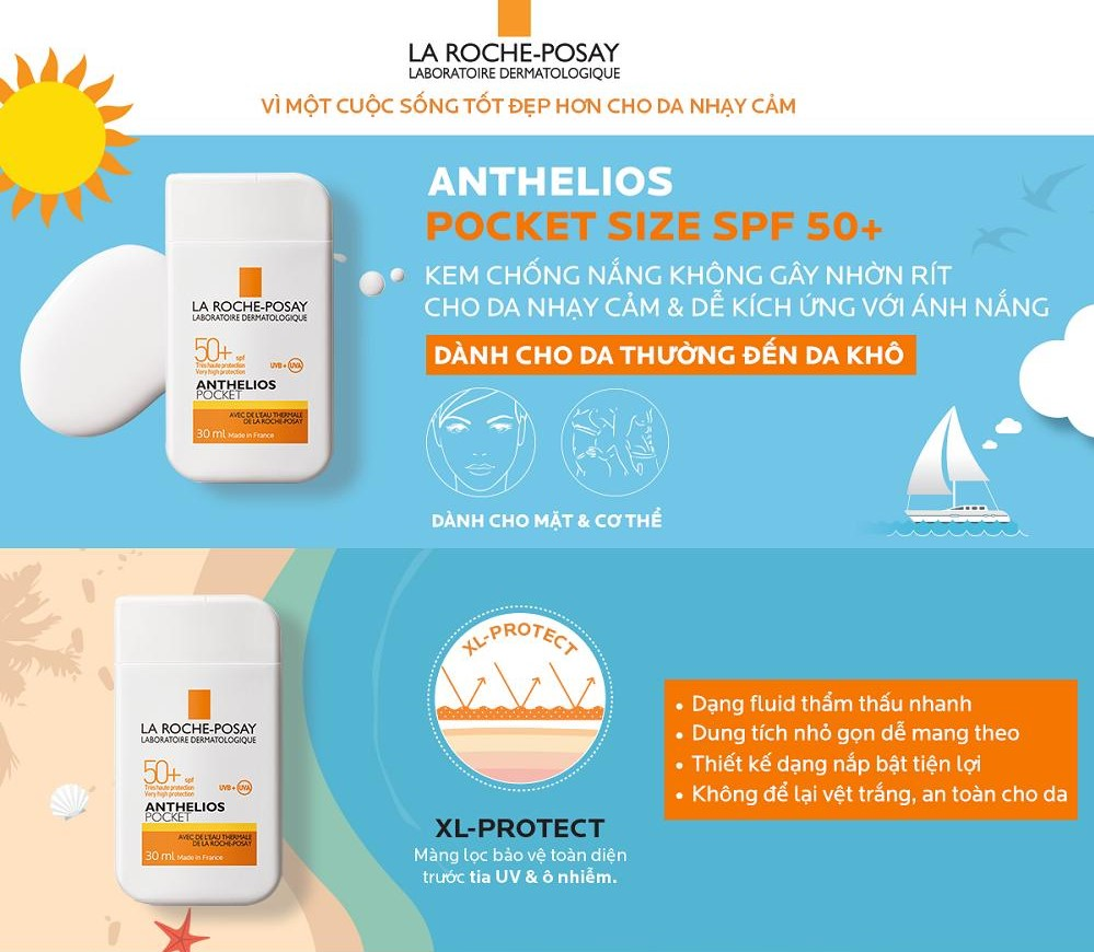 chong nang anthelios pocket 30ml 12