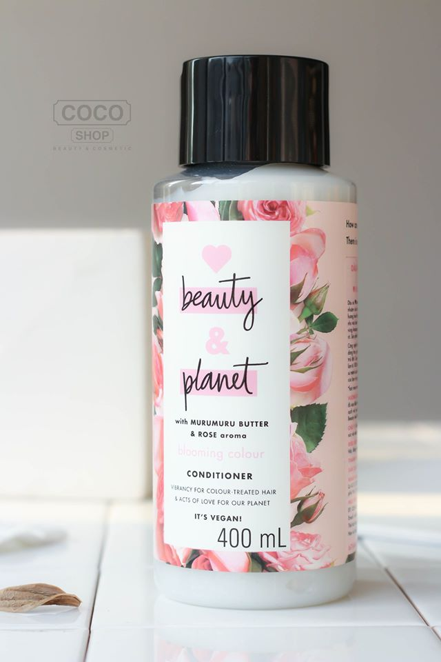 love beauty planet dau xa hong cho toc nhuom 400ml