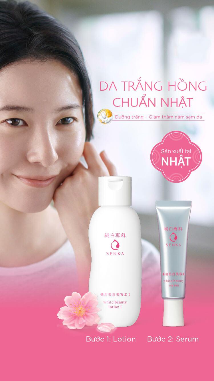 serum duong trang da senka white beauty 35g 4