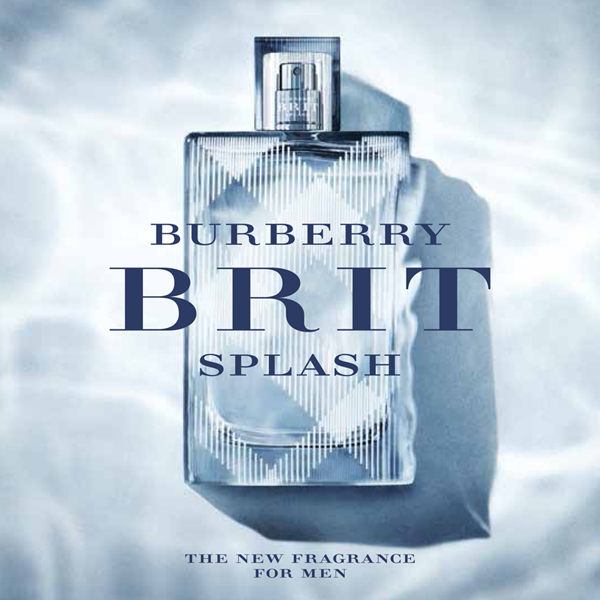 Burberry Brit Splash ads