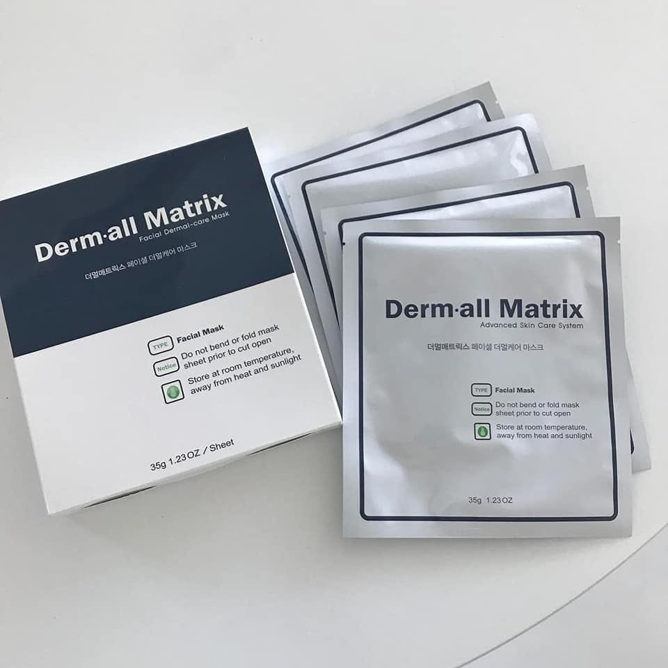 Derm all Matrix Facial Dermal care Mask 7