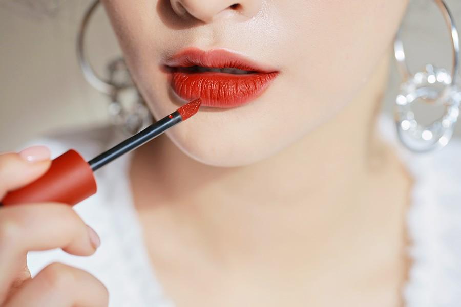 Son kem 3CE Soft Lip Lacquer Null Set