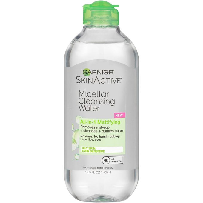 nuoc tay trang Garnier SkinActive Micellar Cleansing Water all in 1 mattifying 400ml