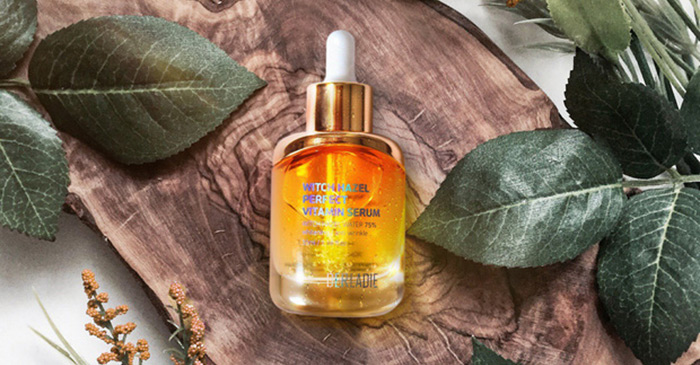 serum ngan ngua mun derladie witch hazel perfect vitamin 35ml 5