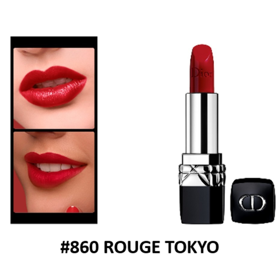 son rouge dior 860