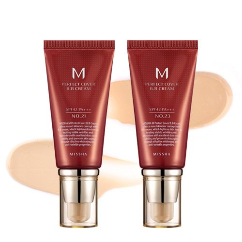 Missha M Perfect Cover BB Cream 3