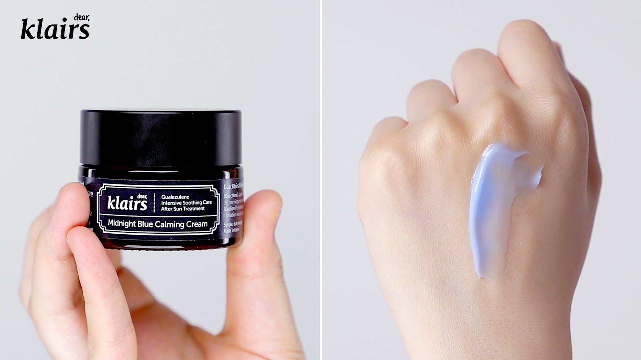 Kem dưỡng Klairs Midnight Blue Calming Cream