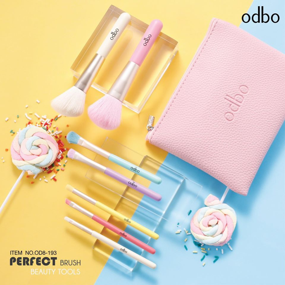 bo co 7 cay odbo perfect brush beauty tools 2