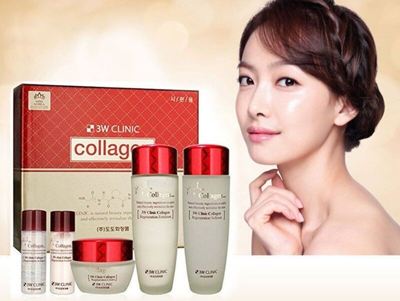 set 3w clinic collagen skin care 2