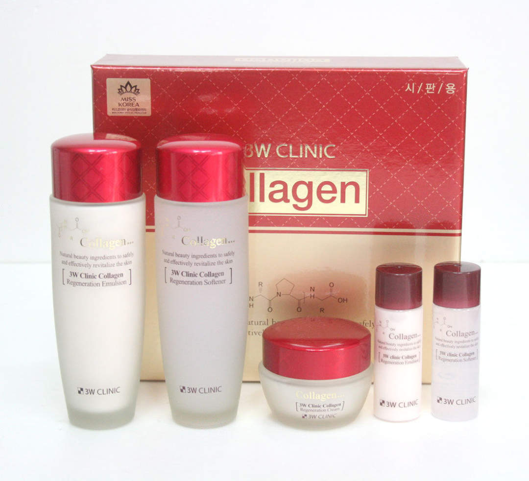 set 3w clinic collagen skin care 5
