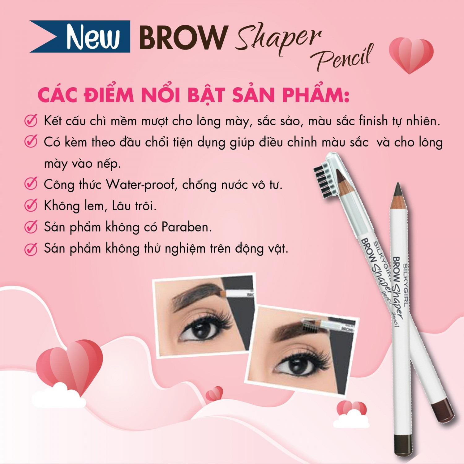 chi may kem choi silkygirl brow shaper pencil 4