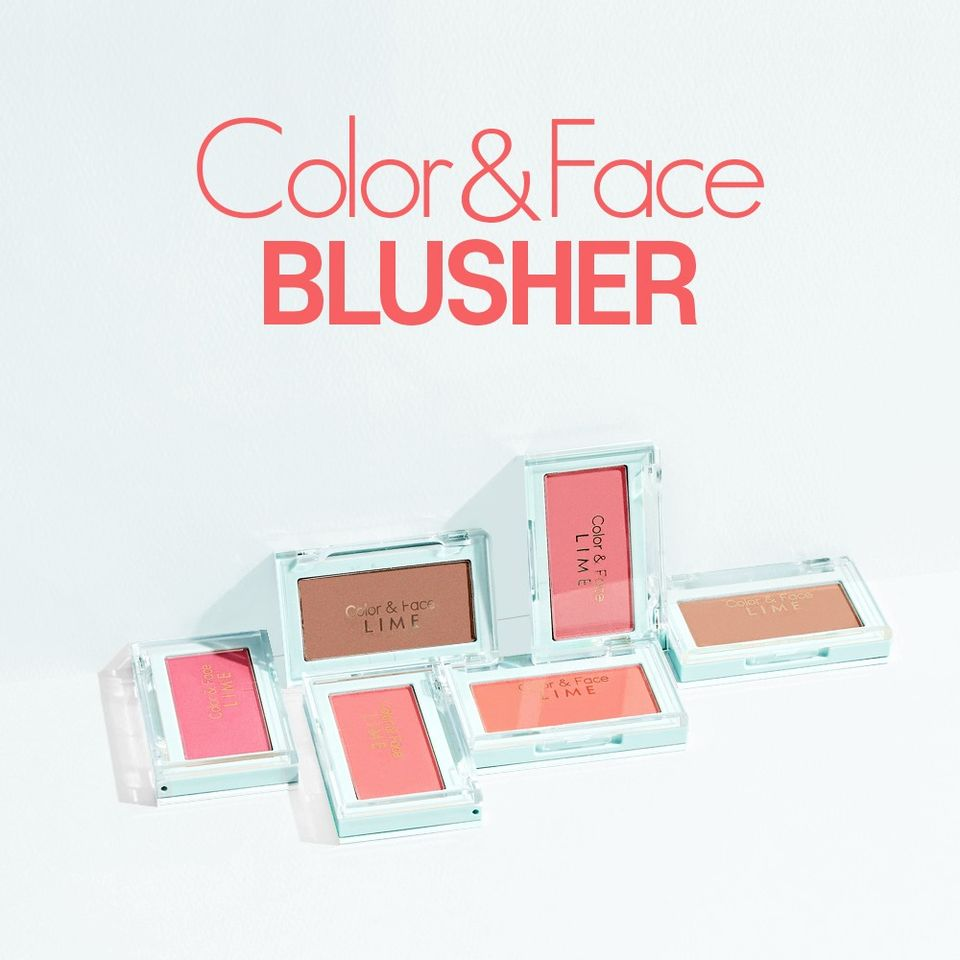 phan ma hong lime color and face single blusher 1