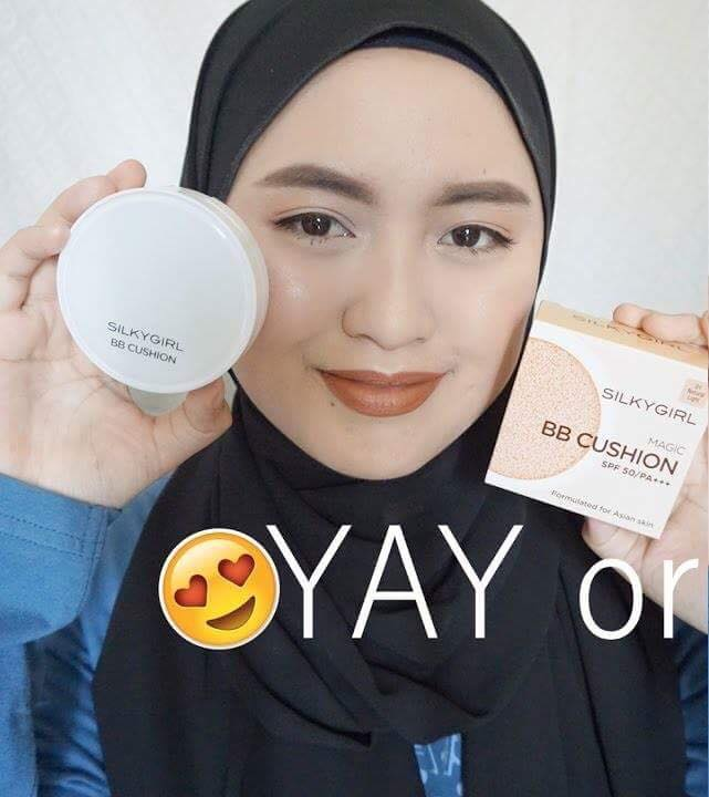 phan nuoc silkygirl magic bb cushion 2