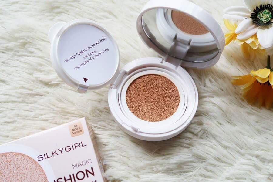 phan nuoc silkygirl magic bb cushion 3