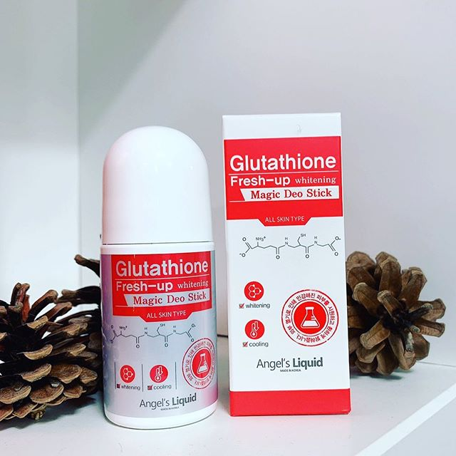 lan khu mui angels liquid glutathione fresh up whitening 1