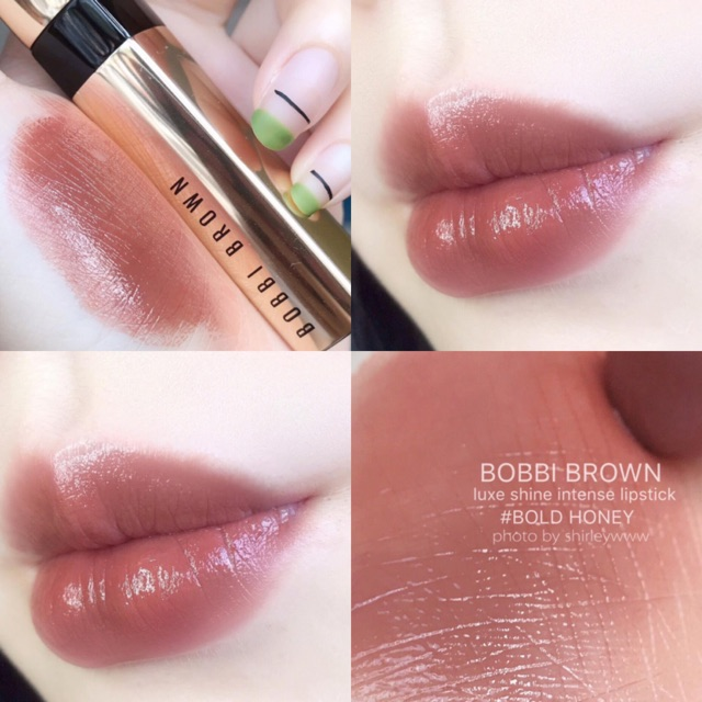 son thoi min li lau troi bobbi brown red bold honey