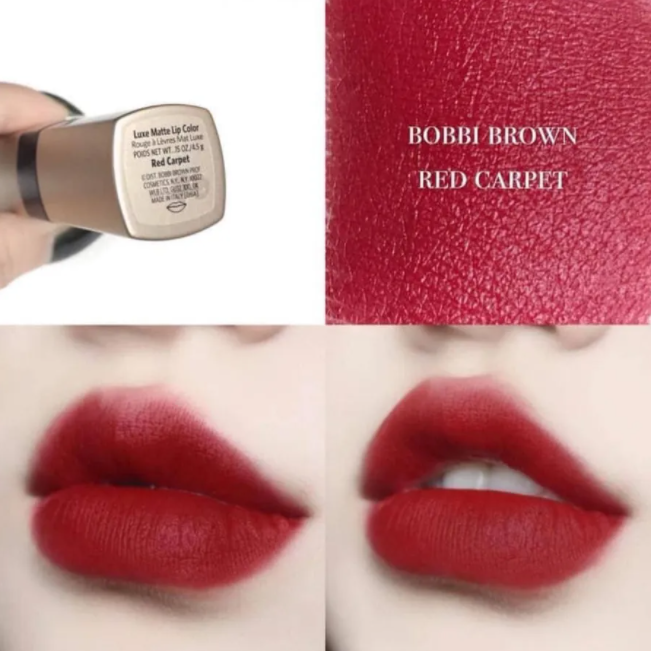 son thoi min li lau troi bobbi brown red carpet