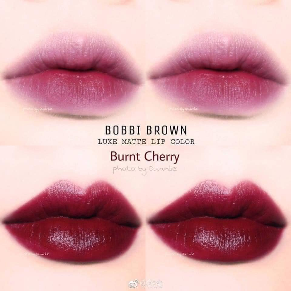 son thoi min li lau troi bobbi brown red curnt cherry